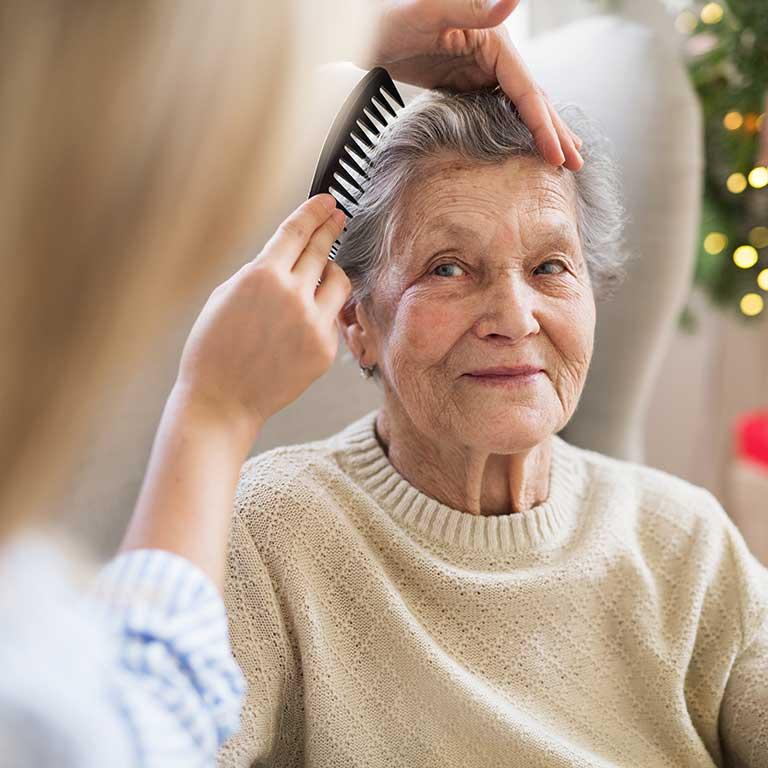 VRS Sunnyside Manor Seniors Community Inclusive Services hairdresser