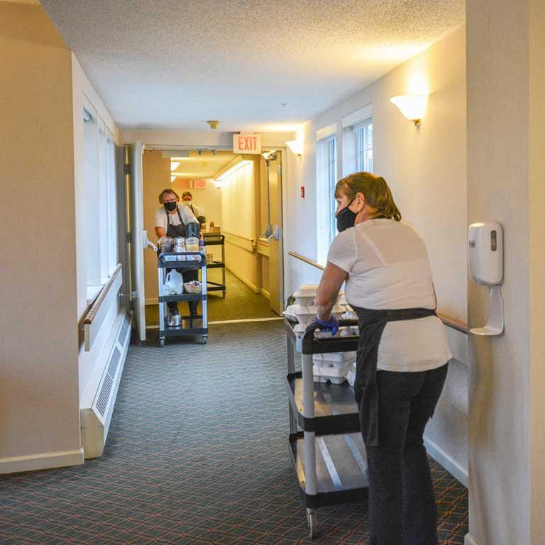 VRS Sunnyside Manor Seniors Community Inclusive Services housekeeping